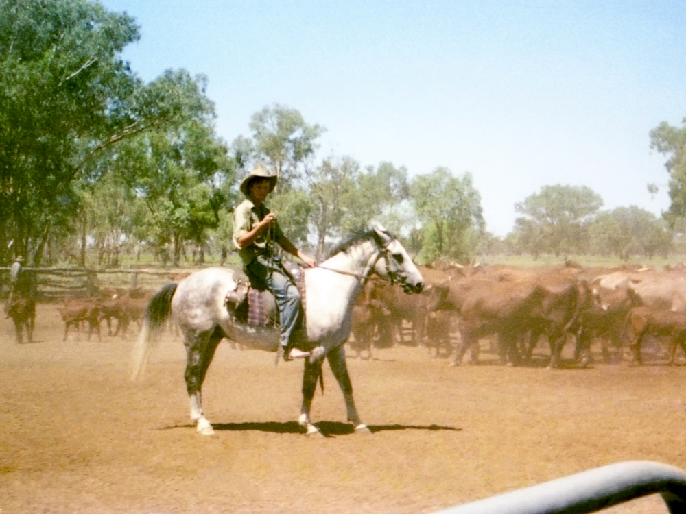 Oxley cattle station, N.S.W., Australia 1981